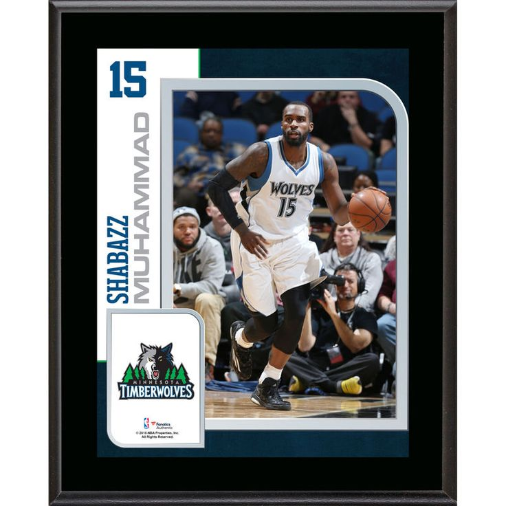 "Shabazz Muhammad Minnesota Timberwolves Fanatics Authentic 10.5"" x 13"" Sublimated Player Plaque"