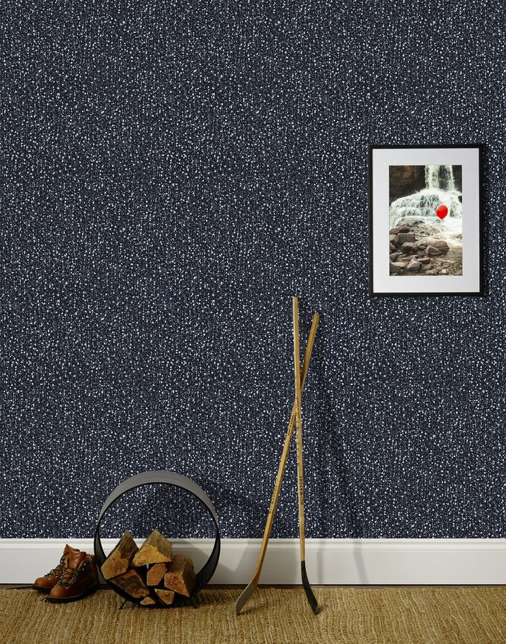 Snow (Ebony) Wallpaper | Hygge & West