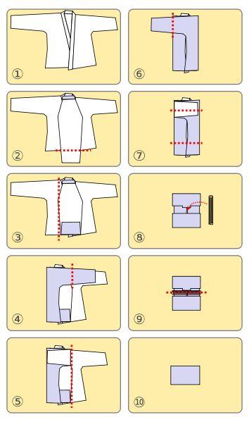 Folding Keiko