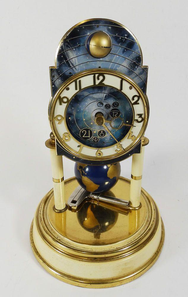 J. Kaiser G.M.B.H. Germany World Anniversary Clock - Spares or Repairs