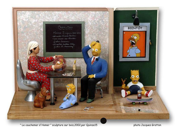 '' Le cauchemar d'Homer '' saynète de Quinze.