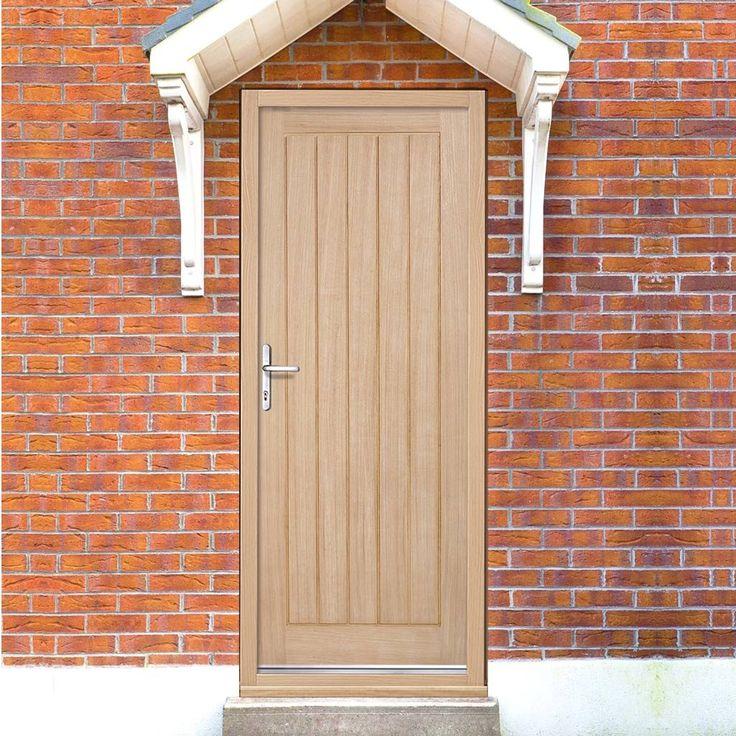 Part L Compliant Geneva Exterior Oak Door, Warmerdoor Style. #externalpartldoor #externaldoor #externaloakdoor
