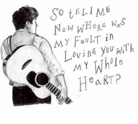 White Blank Page by Mumford and Sons