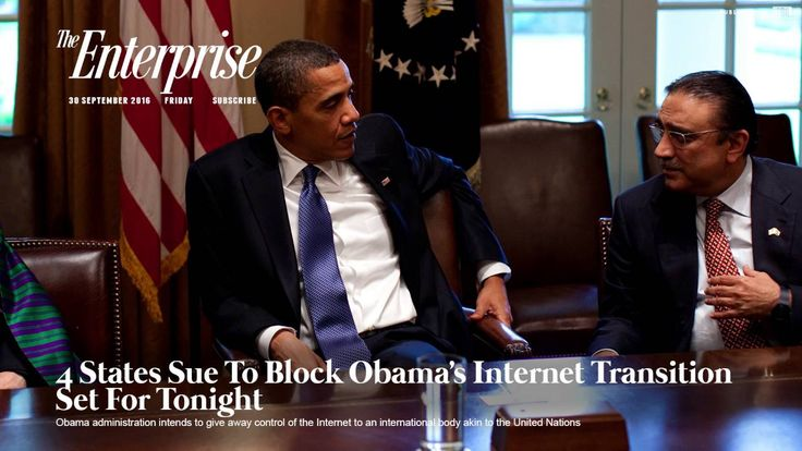 4 States Sue To Block Obama's Internet Transition Set For Tonight