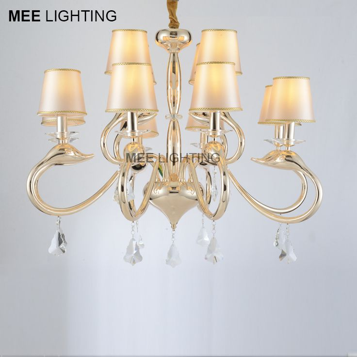 Good Quality Crystal Chandelier Light Fixture Swan Shape Chandelier Lustre Cristal Lampara Illumination Drop Lamp for Decoration dinning room design >>> AliExpress Affiliate's Pin. Want additional info? Click on the image.