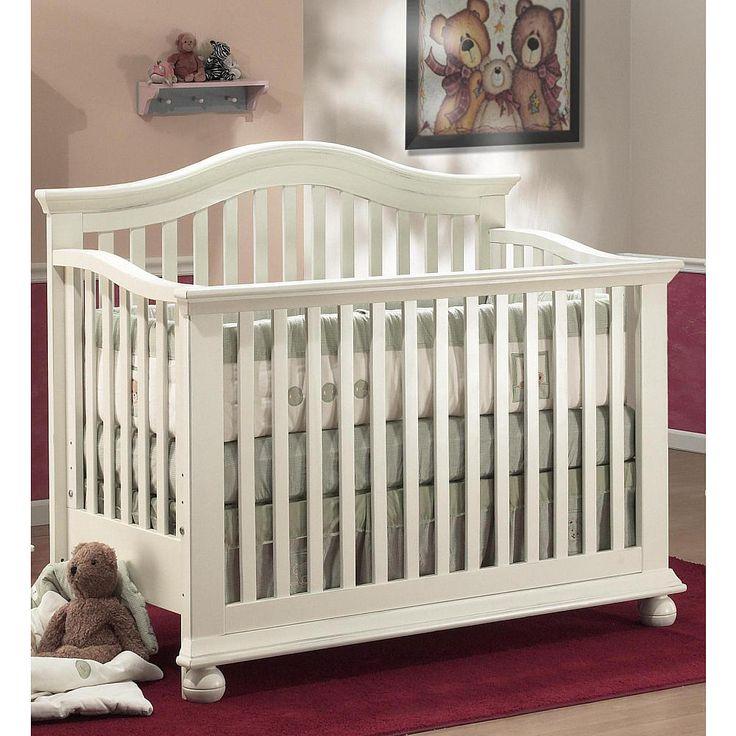 Fresh Sorelle Vista in Crib with Mini Rail White Sorelle