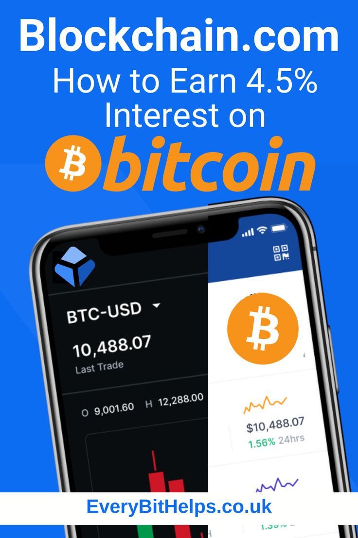 Blockchain com how to earn 45 interest on bitcoin in
