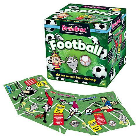 Buy BrainBox Football Memory Game Online at johnlewis.com