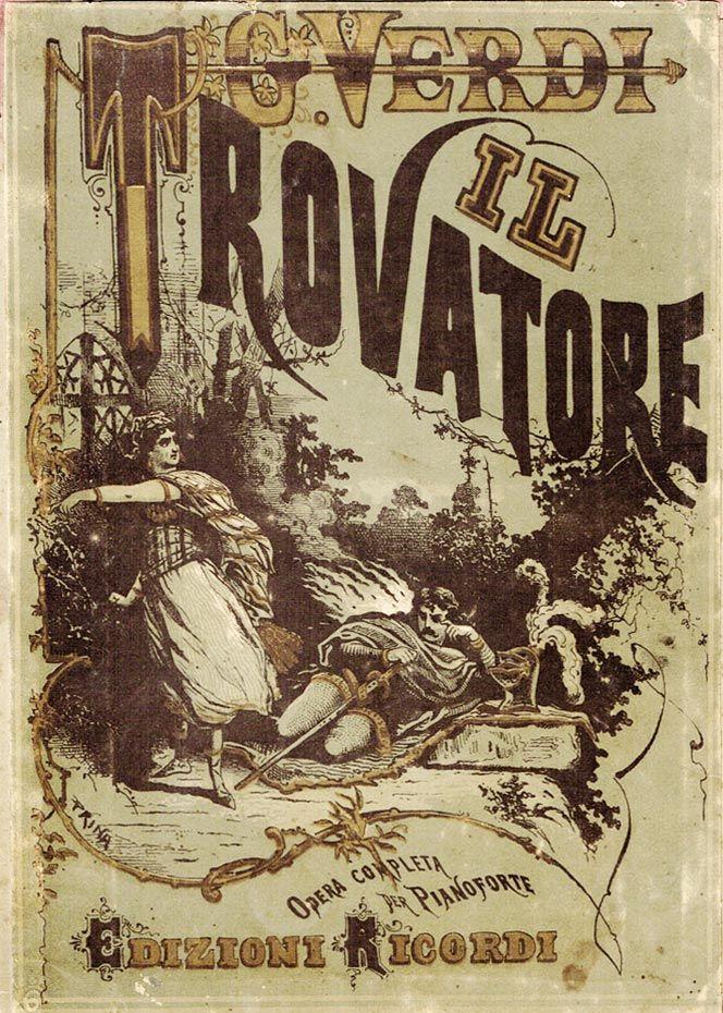 "I ""Ricordi"" di Giuseppe Verdi   Italian Ways Il Trovatore Giuseppe Verdi  #TuscanyAgriturismoGiratola"