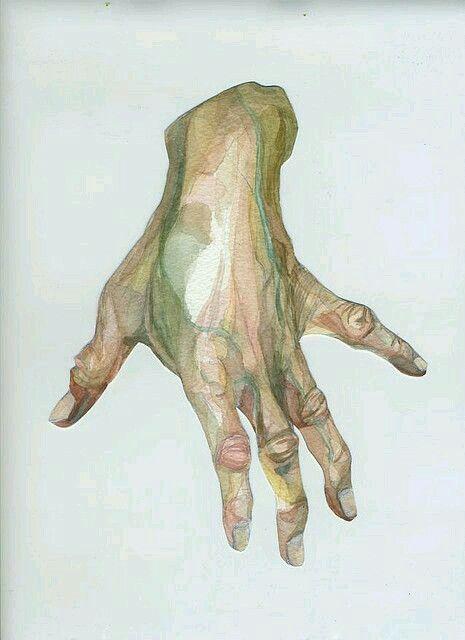 Beautiful hand painting