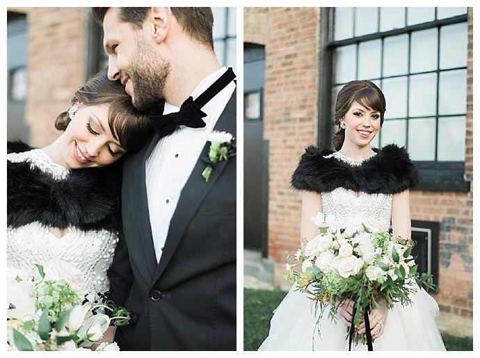 alicia-king-photography-black-fur-wedding-shawl