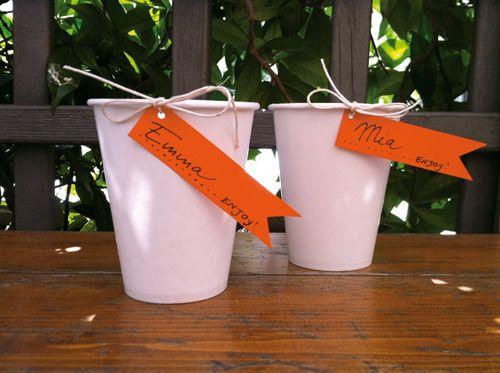 Cute idea!  No more wasting cups!
