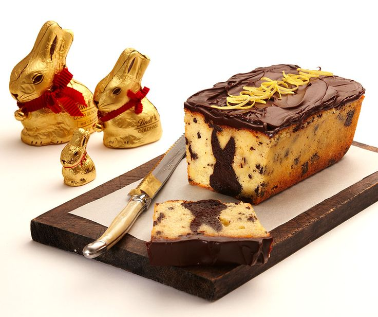 Lemon Cake with Fudgy Bunny Centre | A truly magical Easter treat. Lemon Syrup cake with a hidden chocolate fudge cake bunny centre