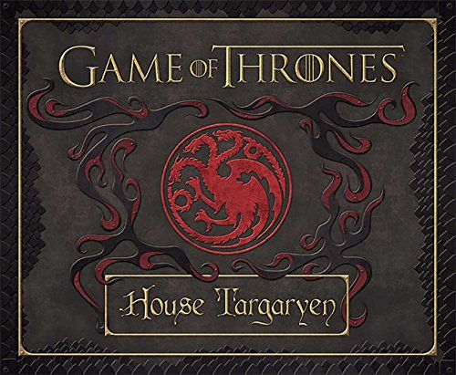 Game of Thrones: House Targaryen Deluxe Stationery Set (Insights Deluxe Stationery Sets)