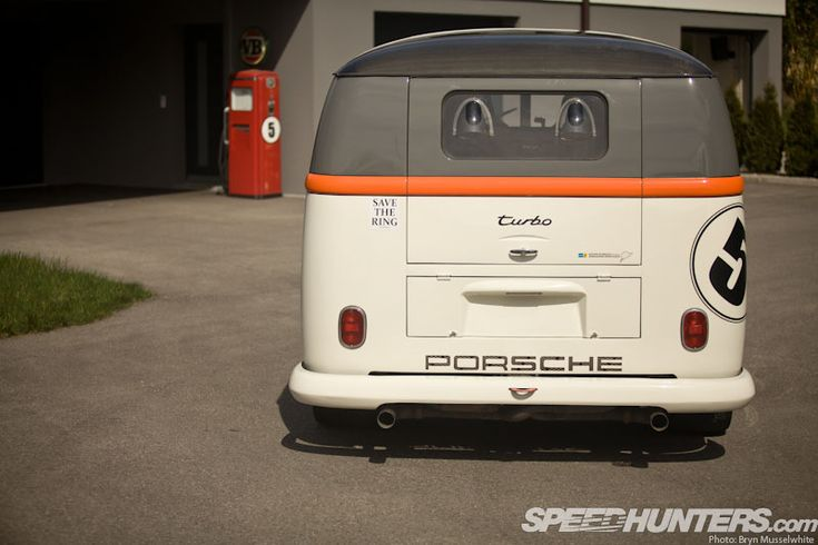RACE-TAXI: THE PORSCHE BI-TURBO BUS - Speedhunters | Cars that Inspire Me | Pinterest | The o ...