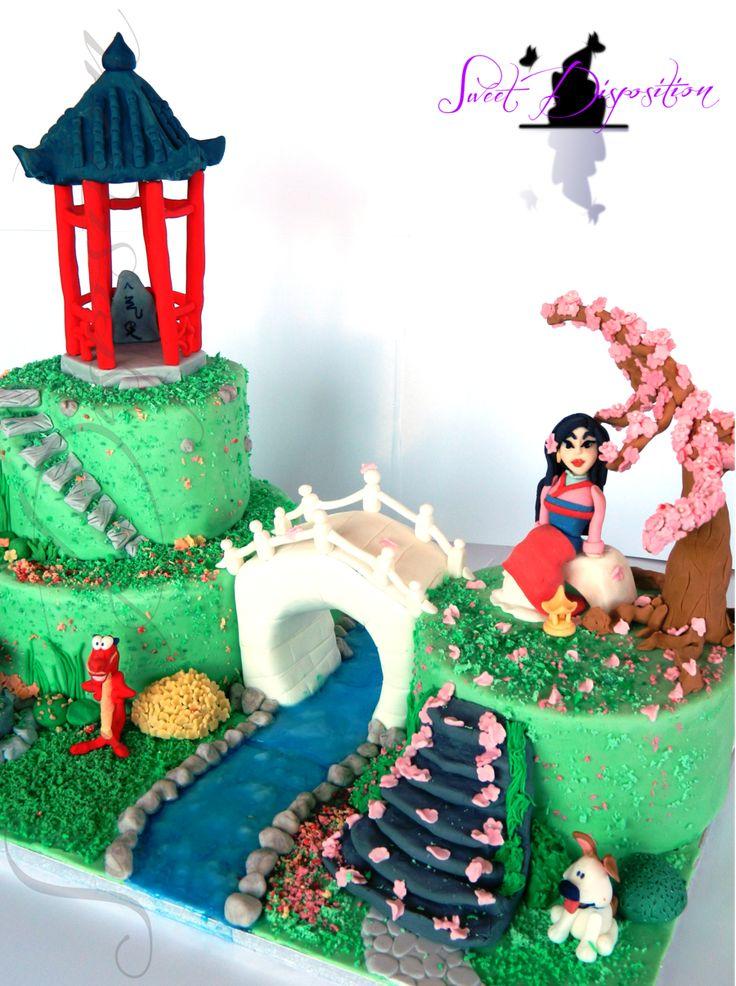Mulan Cake by ~sweetdisposition14 on deviantART