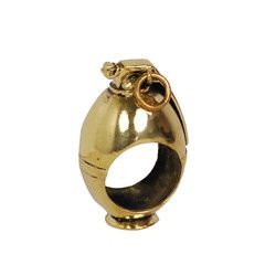 Monserat De Lucca — M67 Grenade Brass Ring