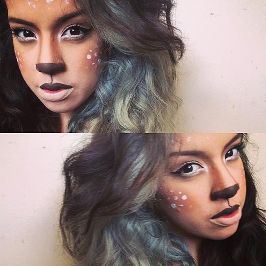 30 Easy Halloween Makeup Ideas   StyleCaster