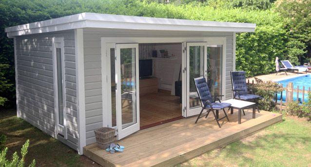 Garden studios nordic wood garden studio pinterest for Garden studio uk