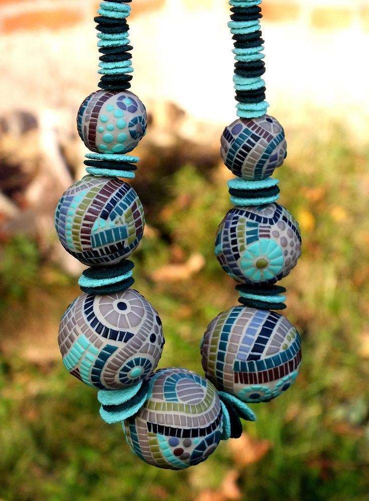 Big mozaik beads | por Lucy Struncova