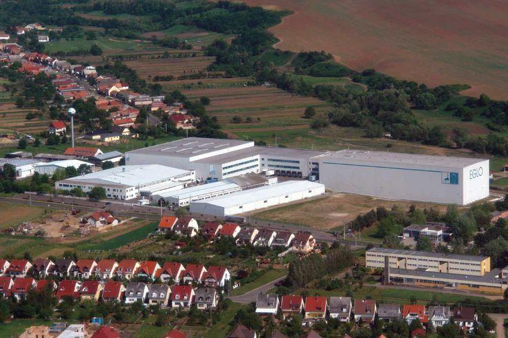 EGLO production facility in Pásztó, Hungary