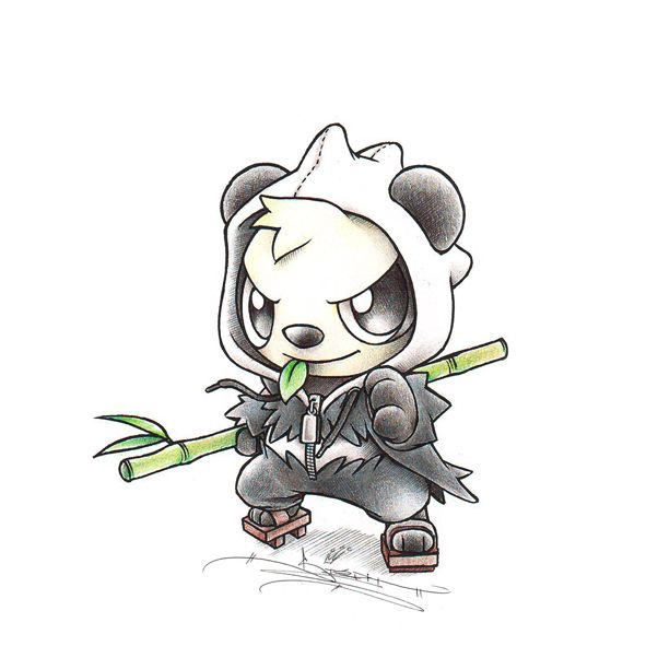 Pancham in pangoro onesie by itsbirdy teh pokemanz - Evolution tiplouf ...