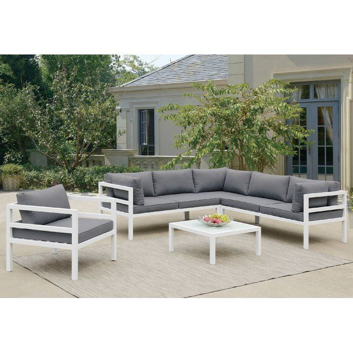 You'll Love The Valencia 5 Piece Sectional Deep Seating