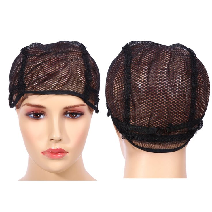10PCS/Lot Nylon Wig Caps For Making Wigs With Adjustable Strap And Buckle On Back 2 Colors Hot sales