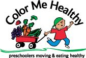 Color Me Healthy Resources.  A preschool and nutrition curriculum is available for purchase.  However, there are a lot of free resources on this website (newsletters, songs, handouts, etc.)