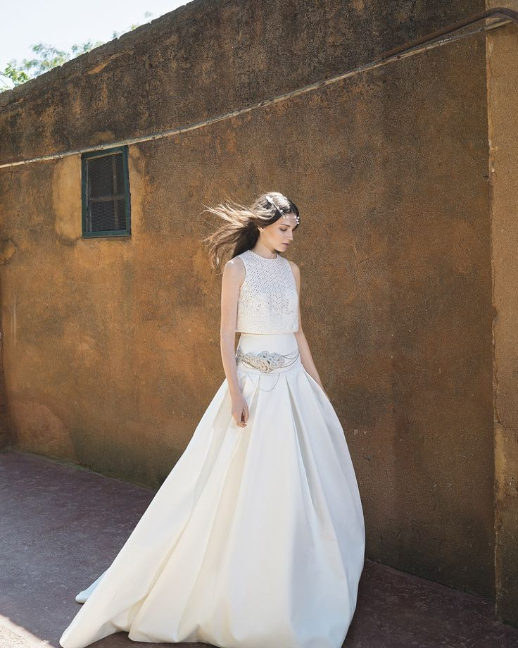 Bridal separates - Nandi Devi, by Jesus Peiro - A Collection of Sophisticated and Elegant Gowns for the Modern Bride | Love My Dress® UK Wedding Blog