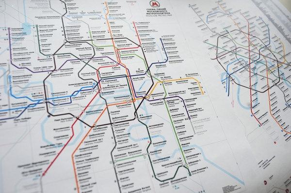 схема метро: Design