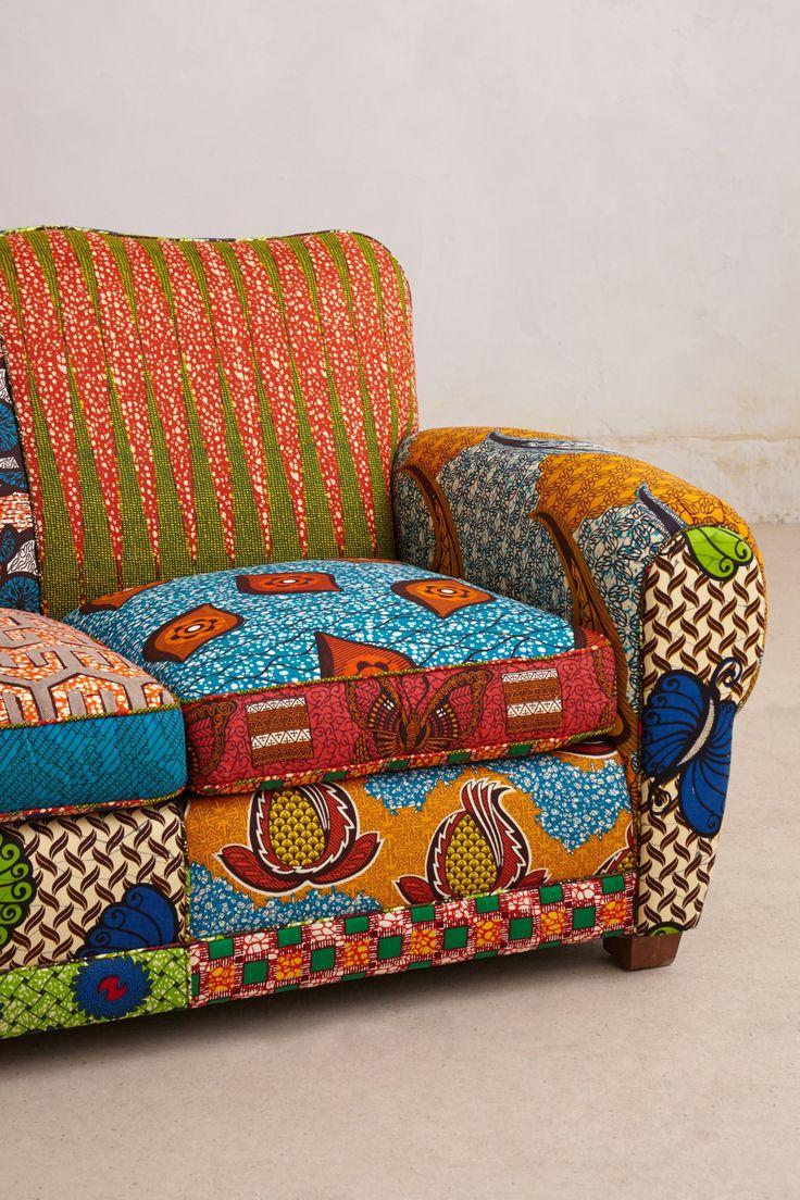 les 13 meilleures images du tableau banquette wax sur pinterest canap s deco africaine et. Black Bedroom Furniture Sets. Home Design Ideas