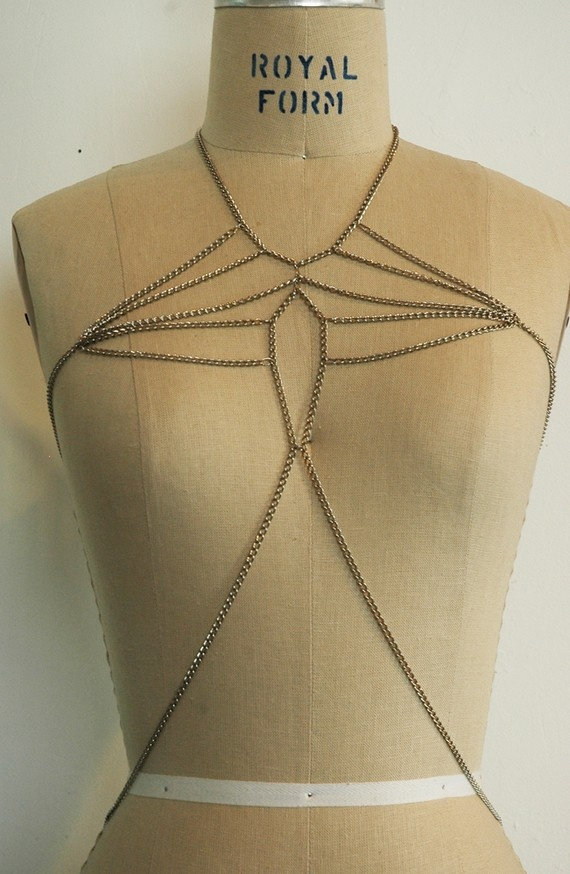 HARNESS, the butterfly harness by peoples couture, cool, sexy, modern, futuristic, accessory for the 21st century, buy it from the inventor. $120.00, via Etsy.