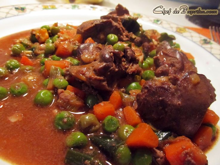 how to cook braised lambs liver and onions