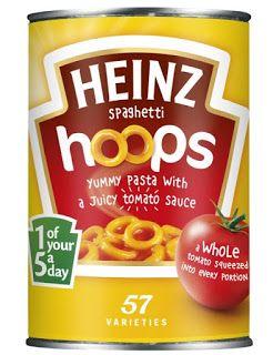 Heinz Spaghetti Hoops U.K.