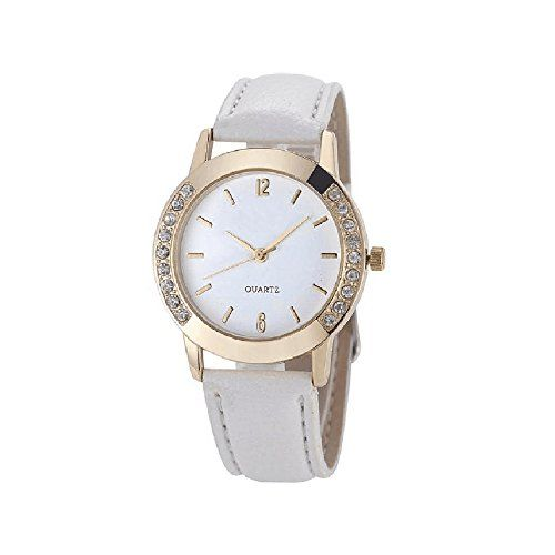 Women watchSMTSMT Womens Diamond Quartz Wrist WatchWhite >>> Visit the  image link more details