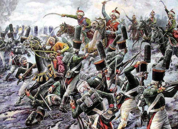 Charge of the Mameluke at Austerlitz