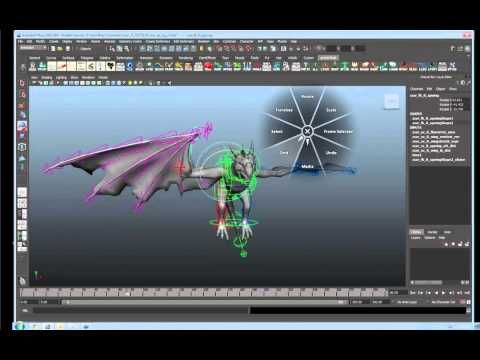 USING A PEN FOR ANIMATION IN MAYA