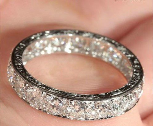 This is a 1940's vintage French ring. OH EM GEE. At a cooooool $12k. Can you IMAGINE how this would look in the sun!!!