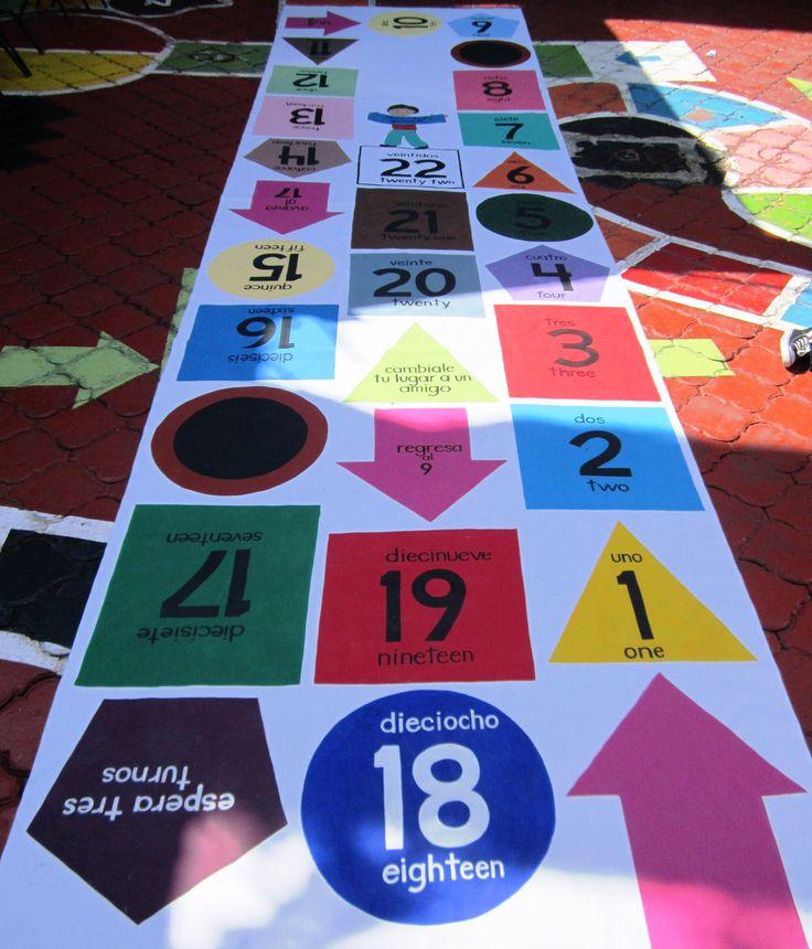 Secuencia numérica del número 1 al 25. Esquemas de armonía cromática Identificación de figuras geométricas básicas.