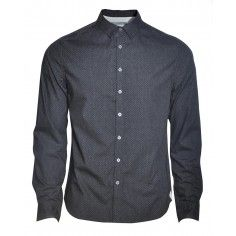 Bolongaro Trevor Vittoria Shirt in a charcoal colour. Wear it with jeans in daytime and dress up with a blazer or bow tie.