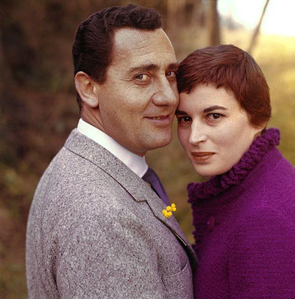 Alberto Sordi and Silvana Mangano by Chiara Samugheo