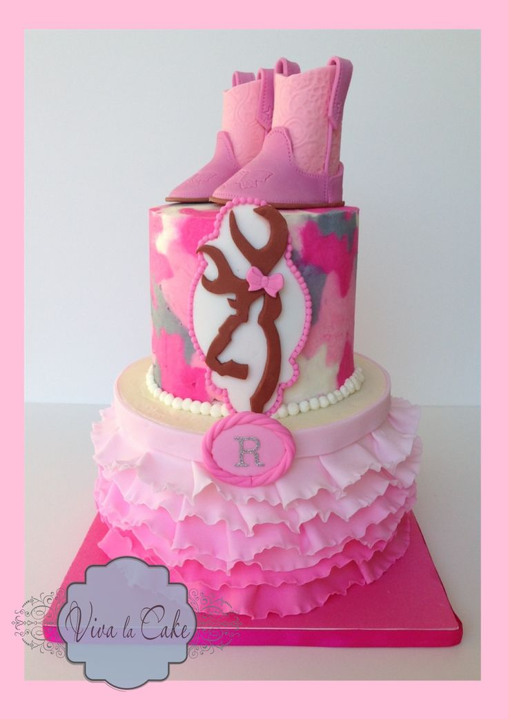 Viva La Cake I Blog: pink camo cake