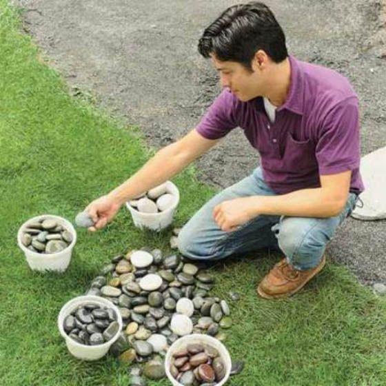 Viktor Tapok: Мозаика из камня своими руками