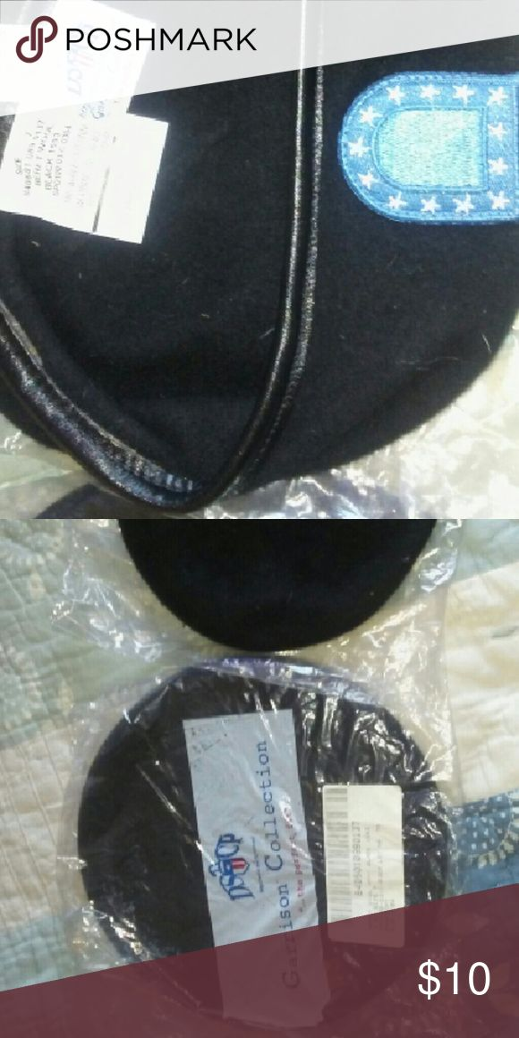 NWT 2 DSCP BLACK ARMY WOOL BERET HATS SZ 7 I HAVE 2 BLACK ARMY BERETS FROM THE GARRISON COLLECTION. SIZE 7.  EACH HAT SOLD SEPARATELY. GARRISON COLLECTION  Accessories Hats