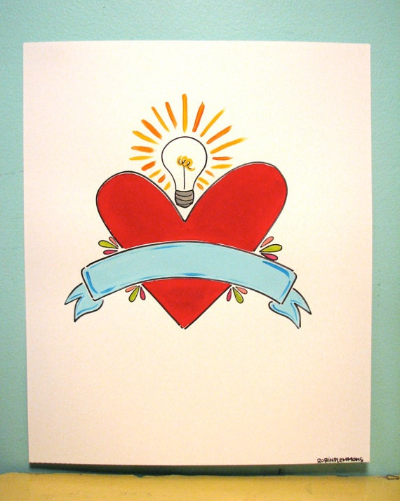 "I want this to say ""Dr. George"" when I finally finish this damn degree.: Heart Tattoo, Poster"