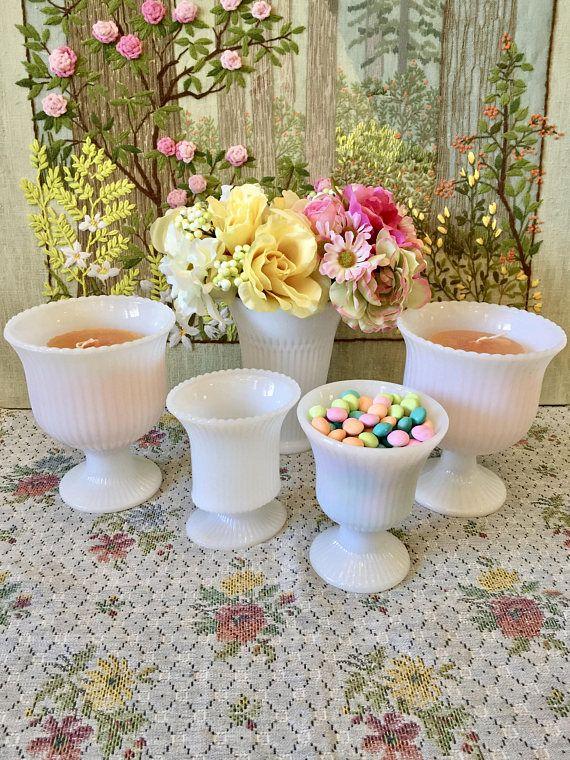 Milk Glass Vases For Wedding Centerpiece Vases For Wedding White