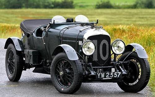 1928 Bentley 4.5-Liter Le Mans Bobtail