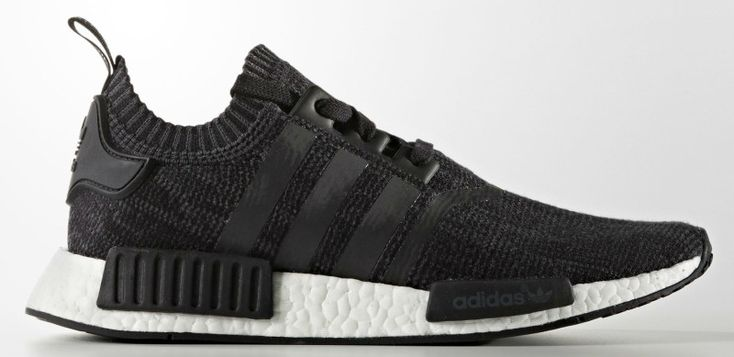 An adidas NMD Wool version is unveiled in a classic black/white colorway. Look for this pair to debut at adidas stores overseas on Sep. 9th.