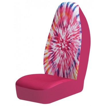 Tie Dye Seat Covers For Cars - Image Of Tie